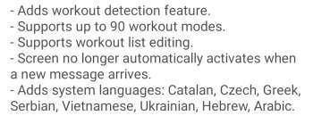 Amazfit GTR 2 Workouts