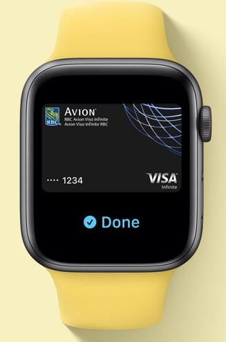 Apple Watch SE Payments
