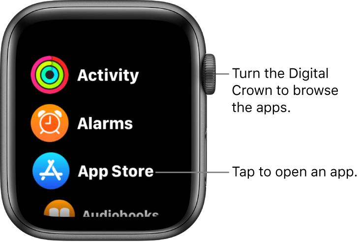 Apple Watch SE Crown
