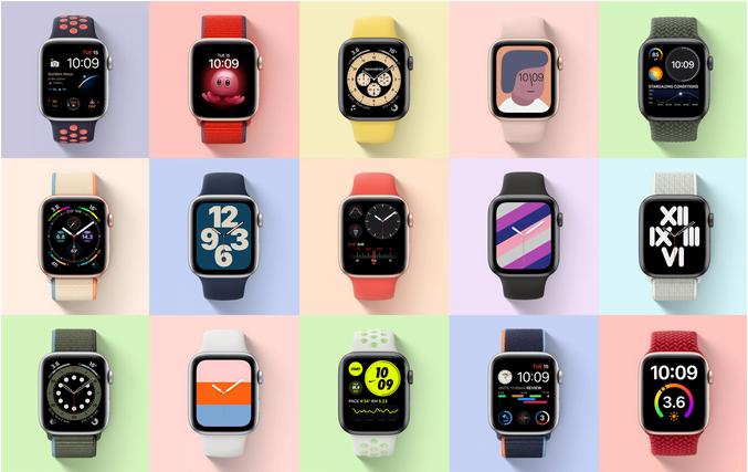 Apple Watch SE Colors