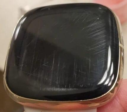 Fitbit Sense Scratch