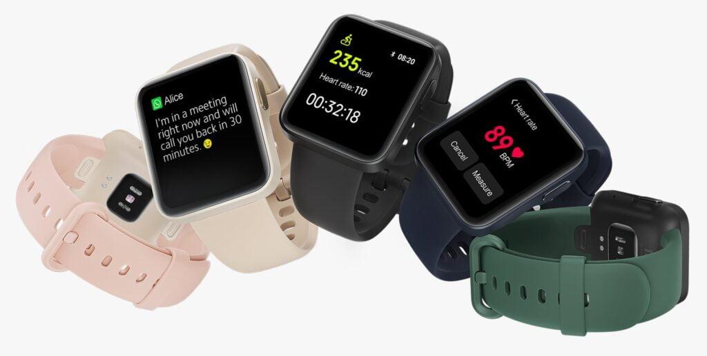 Xiaomi Mi Watch Lite Colors