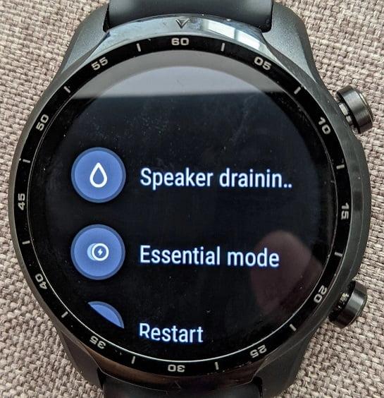 Ticwatch Pro 3 Speaker Draining