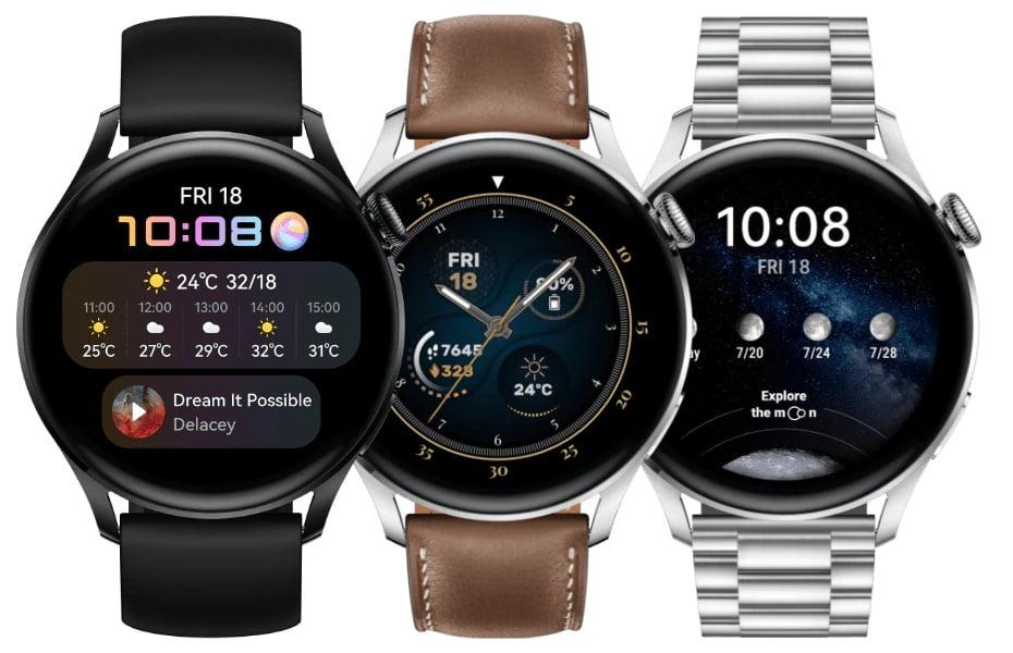 Huawei Watch 3 Editions